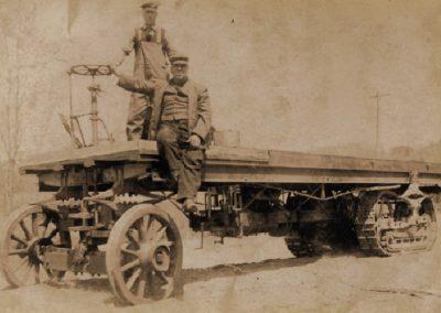 Cowls' first log truck