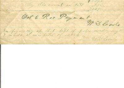 Cowls receipt 1892-001