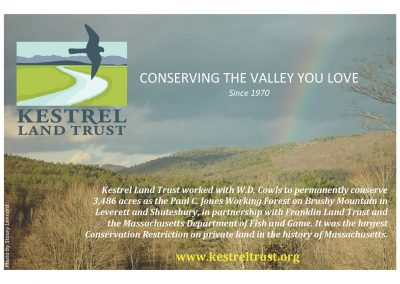 Kestrel Land Trust ad 2013