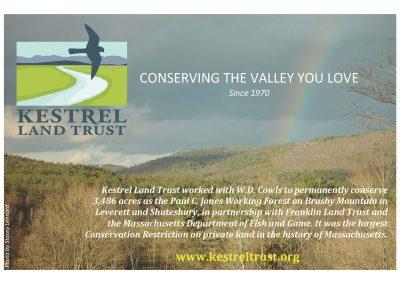 Kestrel Land Trust ad 2013