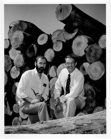 bob boone and paul, Aug. 1`6, 1983